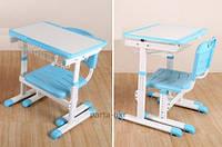 Детский столик и стульчик, с регулировкой высоты и наклона
