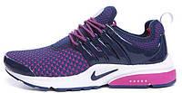 Женские кроссовки Nike Air Presto Flyknit (найк аир престо) фиолетовые