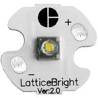 Сверхяркий светодиод Cree XP-E на подложке диаметром 16 мм, высокая светоотдача, для компактных фонарей