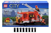 Конструктор CITY 89004 Пожарная машина, 171 дет.