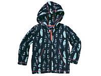 Красивая кофта Lupilu для девочки на молнии с капюшоном и карманами