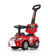 Детская  машинка-каталка Ride On Kid 3в1 красная  Milly Mally  Польша