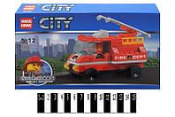 Конструктор CITY 89002 Пожарная машина, 70 дет.