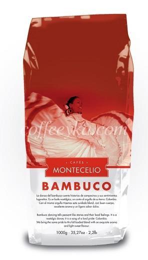 Кофе в зернах MONTECELIO BAMBUCO 1 кг