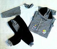 Детский комплект велюр тройка, фото 1