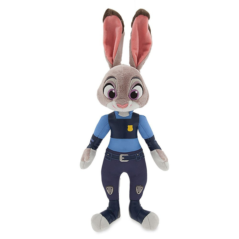 Плюшевая  Джуди Хоппс зайка Зверополис 38см Disney Judy Hopps Plush - Zootopia - Small - 15
