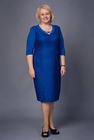 Женское платье больших размеров Самуэла 52, 54, 56, 58, 60 оптом  и в розницу