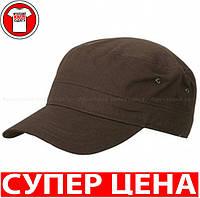Военная КЕПКА МИЛИТАРИ цвет ТЕМНО КОРИЧНЕВЫЙ MB095