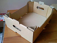Ящик овощной из гофрокартона