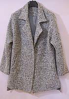 Укороченное пальто букле