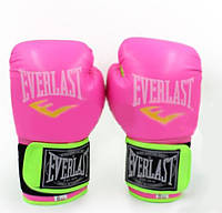 Перчатки боксерские женские 8 унций кож/винил EVERLAST