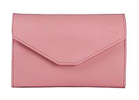 Кошелек-клатч розовый