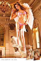 Комплект Hot Pink-Baby Pink Lace Bikini Set