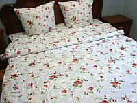 Полуторный комплект постельного белья  Розочка