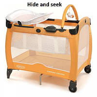 Детский манеж Graco Contour Electra hide and seek