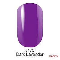 Гель-лак Naomi 170 Dark Lavender, 6 мл