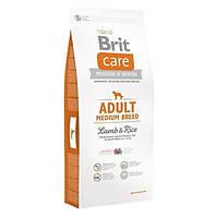 Brit Care Adult Medium Breed Lamb & Rice для взрослых собак средних пород 12 кг