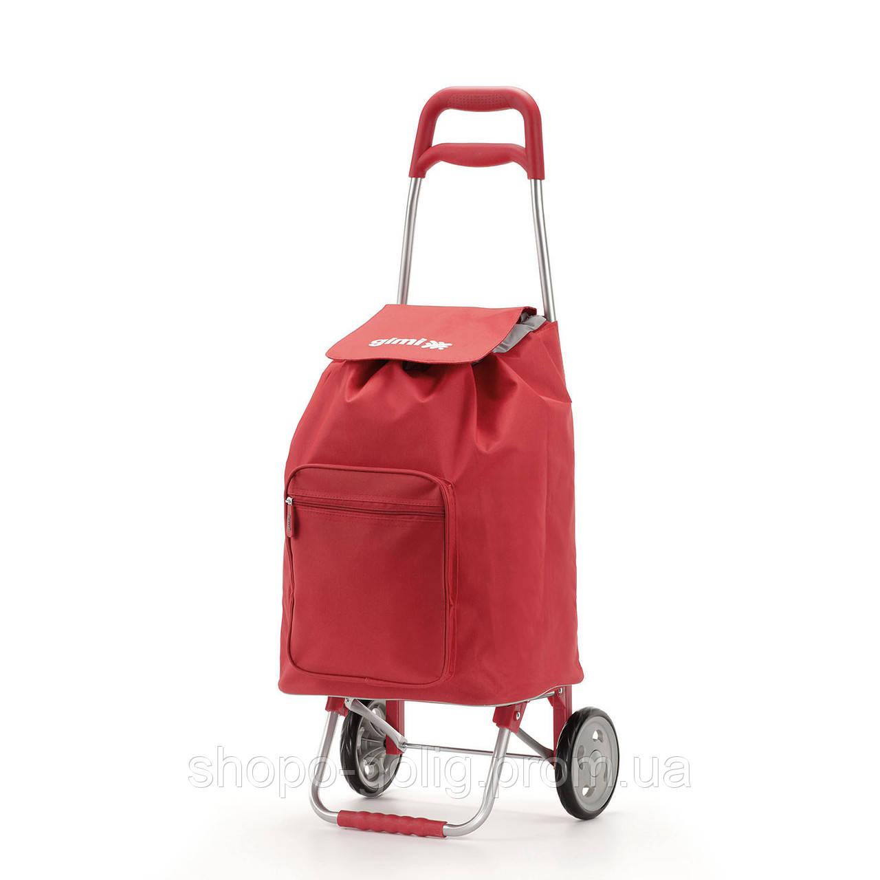 a2c0f4f0bf59 Сумка хозяйственная на колесиках Argo, красная, 37x33x95,6 см ...
