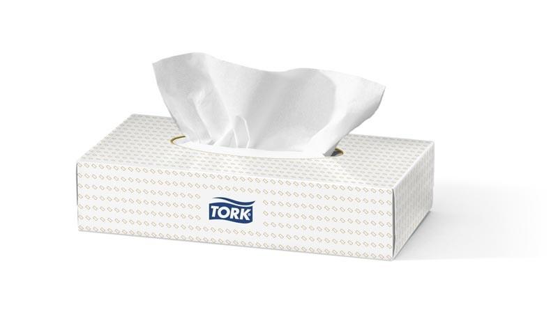 Салфетки для лица супер-мягкие Tork Premium