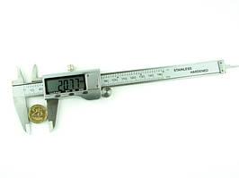 Штангенциркуль цифровой 150мм разрешение 0,01мм металл