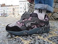 Мужские кроссовки Puma disk blaze x Bape Black Camo (пума диск) 42