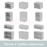 Полки и шкафчики навесные ШН, Украина