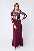 Красивое длинное платье Дайона