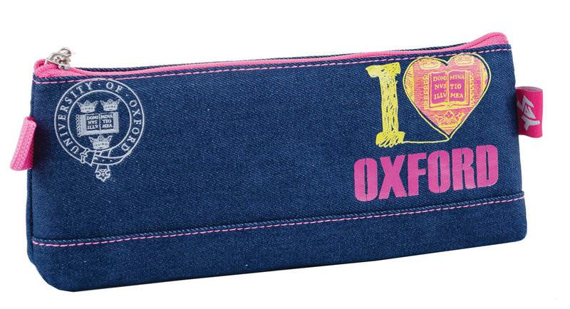 Пенал-косметичка на одно отделение «I love Oxford»