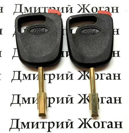 Ключ для Ford (Форд) с чипом 4D60 80 bit, фото 2