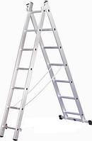 Лестница 2-х секционная Elkop VHR H 2х6 (2,43 м, 150 кг)