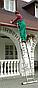 Лестница 2-х секционная Elkop VHR P 2х16 (7,37 м, 150 кг), фото 2