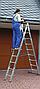 Лестница 2-х секционная Elkop VHR P 2х16 (7,37 м, 150 кг), фото 3