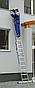 Лестница 2-х секционная Elkop VHR P 2х16 (7,37 м, 150 кг), фото 4