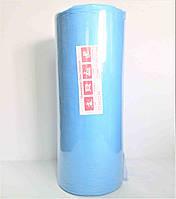 Одноразовые простыни в рулоне 0.6*500 м., Голубые