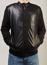 Куртка мужская из кожзаменителя , фото 2
