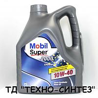 Моторное масло MOBIL SUPER 2000 DIESEL 10W-40 (4л)