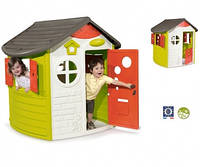 Дом лесника со ставнями и ключом, 124x117x132 см, 2+