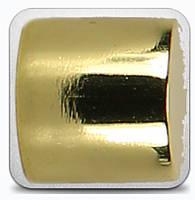 Заглушка д.19мм золото