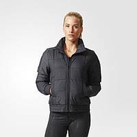 Женская короткая куртка Adidas Padded Bomber Jacket AA8532