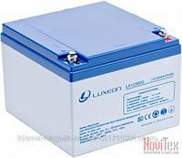 Аккумулятор Luxeon LX12-260G 26Ah, гелевый (Gel) для ИБП