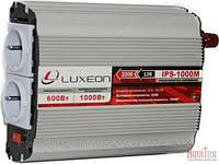 Инвертор напряжения Luxeon IPS-1000M, преобразователь 12 в 220