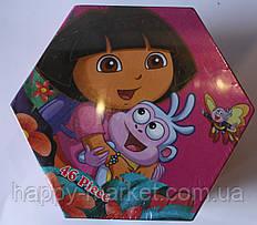 Набор для детского творчества Даша (46 предметов) шестигранный