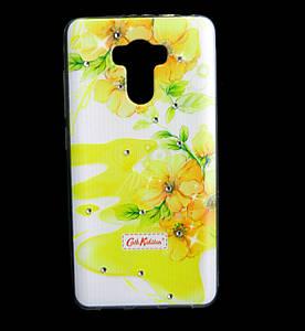 Чехол накладка для Xiaomi Redmi 4 / Redmi 4 Prime силиконовый Diamond Cath Kidston, Sun Flowers