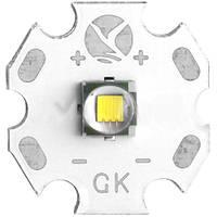 Мощный светодиод Cree T6, диаметр 20 мм, низкое энергопотребление