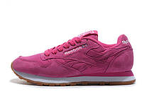 Кроссовки женские Reebok Classiс Suede Pink розовые