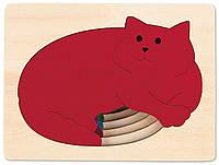 HAPE Пазл 5 Котов серии George Luck (E6514), фото 1