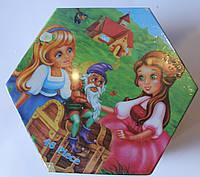 Набор для детского творчества Девочки (46 предметов) шестигранный