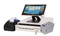 Комплект Pos оборудования для автоматизации кафе, кофеен и баров