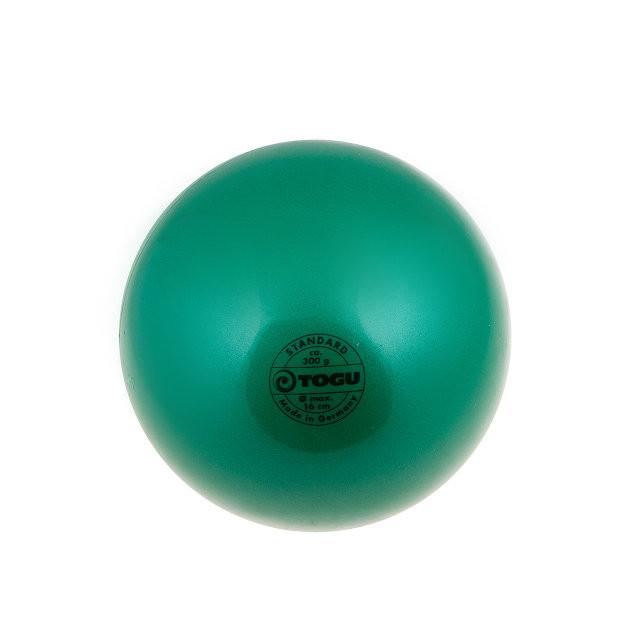 Мяч гимнастический 300гр зеленый Togu. Суперцена!
