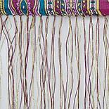 Царский 1159-54, павлопосадский шарф-палантин шерстяной с шелковой бахромой, фото 4